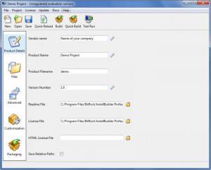 Enlarge BitRock InstallBuilder Professional Screenshot