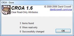 Enlarge CROA Screenshot
