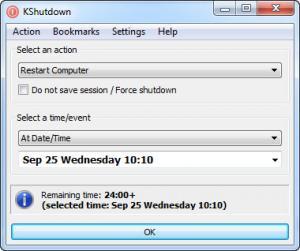 Enlarge KShutdown Screenshot