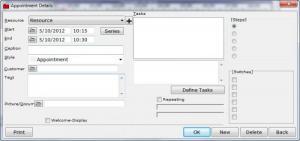 Enlarge Astice Timetable Screenshot