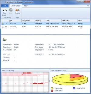 Enlarge Disk Scrubber Screenshot