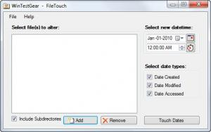Enlarge FileTouch Screenshot