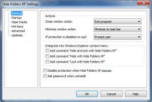 Enlarge Hide Folders XP Screenshot