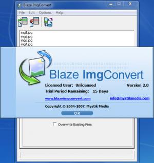 Enlarge Blaze ImgConvert Screenshot