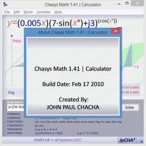 Enlarge Chasys Math Screenshot