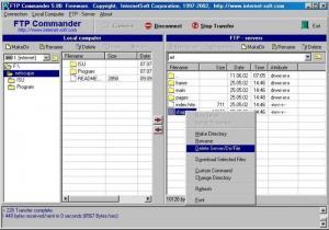 Enlarge FTP Commander Screenshot