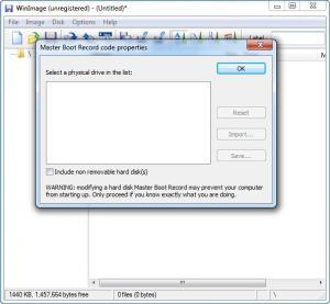 Enlarge WinImage Screenshot