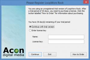 Enlarge LoopWorx Rock Edition Screenshot