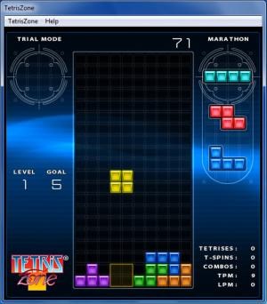 Enlarge Tetris Screenshot