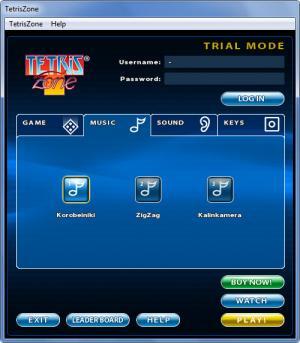 Enlarge Tetris Screenshot