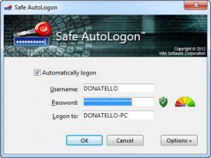 Enlarge Safe AutoLogon Screenshot