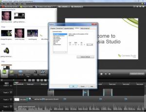 Enlarge Camtasia Studio Screenshot