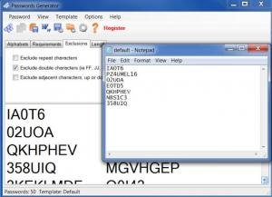 Enlarge Passwords Generator Screenshot