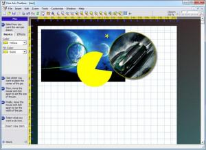 Enlarge Fine Arts Toolbox Screenshot