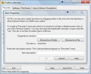 Enlarge FileBox eXtender Screenshot