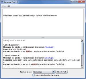 Enlarge LanguageTool Screenshot