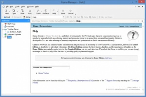Enlarge Gizmo Editor Screenshot