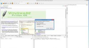 Enlarge Wing IDE Professional Screenshot