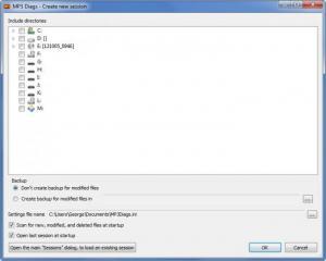 Enlarge MP3 Diags Screenshot