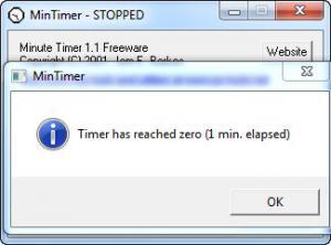 Enlarge Minute Timer Screenshot