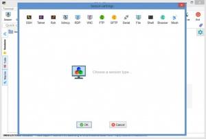 Enlarge MobaXterm Screenshot