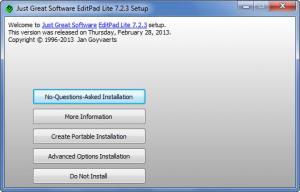 Enlarge EditPad Lite Screenshot