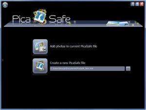 Enlarge PicaSafe Screenshot