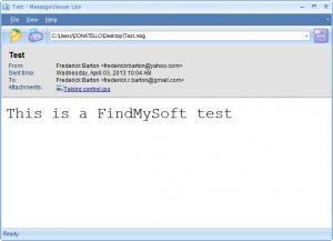 Enlarge Message Viewer Lite Screenshot