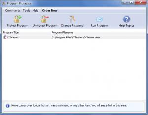 Enlarge Program Protector Screenshot