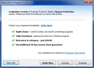 Enlarge Program Protector Screenshot