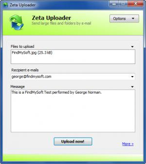 Enlarge Zeta Uploader Screenshot