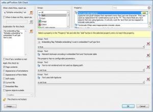 Enlarge callas pdfToolbox Screenshot