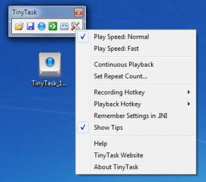 Enlarge TinyTask Screenshot