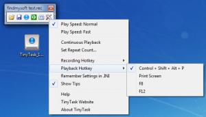 Enlarge TinyTask Screenshot