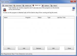 Enlarge Task Catcher Screenshot