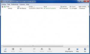 Enlarge SyncBackPro Screenshot