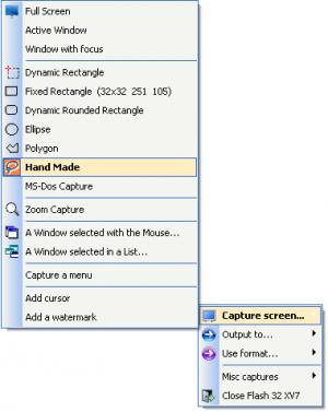 Enlarge Flash 32 XV7 Screenshot