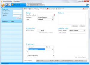 Enlarge inFlow Inventory Screenshot
