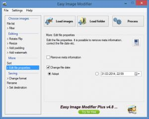 Enlarge Easy Image Modifier Screenshot