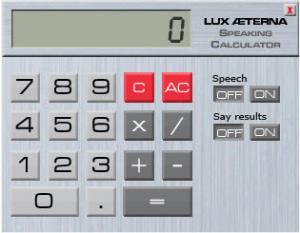 Enlarge Speaking Clock Deluxe Screenshot