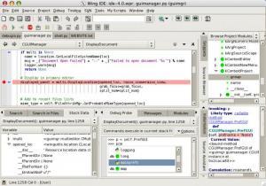 Enlarge Wing IDE Personal Screenshot