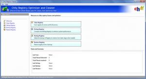 Enlarge Chily Registry Cleaner Screenshot