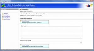 Enlarge Chily Registry Cleaner Screenshot