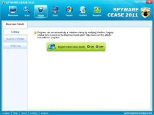 Enlarge Spyware Cease Screenshot