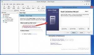 Enlarge Gizmo Hasher Screenshot