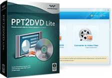 Enlarge Wondershare PPT2DVD Lite Screenshot