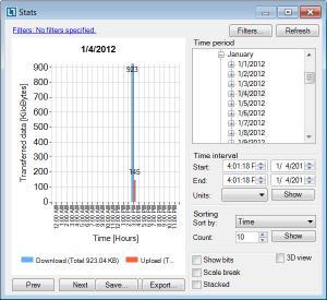 Enlarge NetLimiter Screenshot
