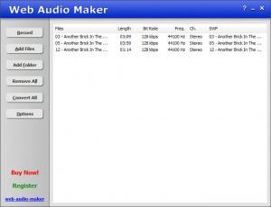 Enlarge Web Audio Maker Screenshot