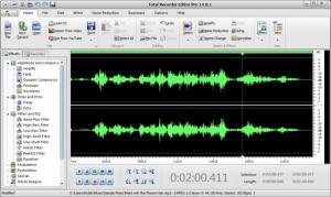 Enlarge Total Recorder Editor Pro Screenshot