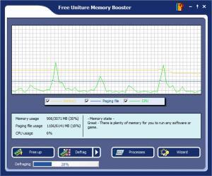 Enlarge Uniture Memory Booster Screenshot